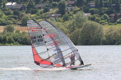 Tandem Windsurfen